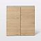 Armoire de salle de bains décor chêne Imandra L. 60 x H. 60 x P. 15 cm