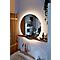 Miroir lumineux LED avec étagère GoodHome Adriska