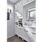 Colonne de salle de bains à linge GoodHome Ladoga blanc L. 40 x H. 190 x P. 36 cm