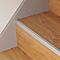 Profilé de rénovation de marche en aluminium décor métal mat GoodHome 16 x 25 x 900 mm