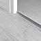 Barre de seuil extra-plate en aluminium décor métal mat GoodHome 35x930mm