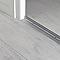 Large barre de seuil en aluminium décor métal mat GoodHome 60x930mm