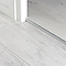 Profilé de finition en U en aluminium pour sol , décor métal mat GoodHome 8,5x930mm