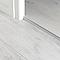 Profilé de finition en U en aluminium pour sol , décor métal mat GoodHome 8,5x1800mm
