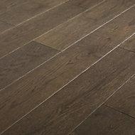 Parquet contrecollé Sumbing M chêne verni gris (vendu au carton)