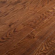 Parquet contrecollé Usborne M chêne verni marron (vendu au carton)