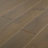 Parquet massif Saffle M chêne huilé gris (vendu au carton)