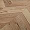 Sol stratifié Heanor Point de Hongrie chêne clair 8mm (vendu à la botte)
