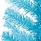 Sapin artificiel bleu h.91 cm