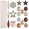 Assortiment de décorations de Noël nature, 100 pièces