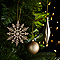 Assortiment de décorations de Noël champagne (50 pièces)