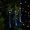 Décoration goutte bleue (6 pièces)