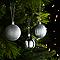Décoration boule de noël ø60 mm argentée (18 pièces)