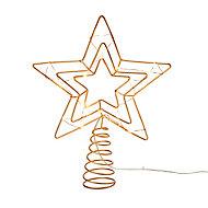 Cimier étoile cuivre LED