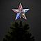 Décoration cimier étoile 30 cm LED