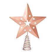 Cimier étoile cuivre