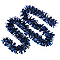 Guirlande 2 m bleu