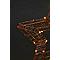 Etoile lumineuse cuivre 36 cm