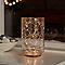 Guirlande lumineuse fil cuivre 100 LED blanc chaud, piles