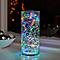 Guirlande lumineuse fil cuivre 100 LED multicolore, piles