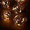 Guirlande lumineuse 10 ampoules, piles