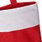 Chaussette de noël rouge