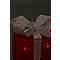 Cadeaux lumineux rouge 25 cm