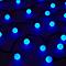 Guirlande lumineuse Boule 120 LED bleu, électrique