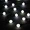 Guirlande lumineuse Boule 240 LED blanc froid, électrique