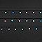 Guirlande lumineuse Boule 240 LED multicolore, électrique