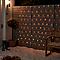Guirlande lumineuse Rideaux 120 LED blanc chaud, électrique