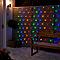 Guirlande lumineuse Rideaux 120 LED multicolore, électrique