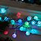Guirlande lumineuse 30 boules multicolore, électrique