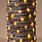 Guirlande lumineuse fil cuivre 500 LED blanc chaud, électrique