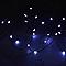 Guirlande lumineuse fil cuivre 500 LED blanc froid, électrique