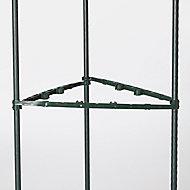 Tuteur acier plastifié Verve 150 cm