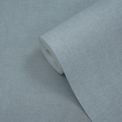 Papier peint vinyle sur intissé GoodHome Moivre bleu