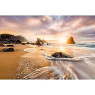 Poster intissé GoodHome Sunset Beach 248x368cm