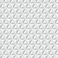 Papier peint intissé GoodHome Onagre blanc 53cm