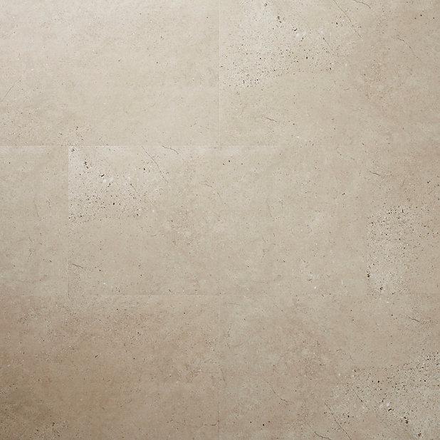 Dalle Pvc Adhesive Pierre Beige Poprock 30 X 60 Cm Vendue Au Carton Castorama