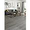 Lame PVC clipsable bois grisé GoodHome Jazy 18 x 122cm (vendu au carton)