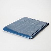 Bâche légère bleu 4 x 5 m