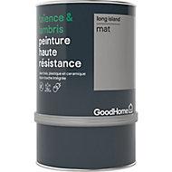 Peinture haute résistance carrelage mural et lambris GoodHome gris Long Island mat 0,75L