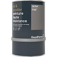 Peinture haute résistance sol et escalier GoodHome gris Fairfield mat 0,75L