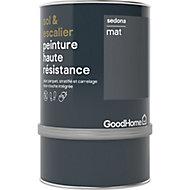 Peinture haute résistance sol et escalier GoodHome blanc Sedona mat 0,75L