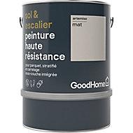 Peinture haute résistance sol et escalier GoodHome beige Artemisa mat 2L