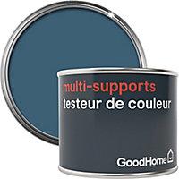 Testeur peinture de rénovation multi-supports GoodHome bleu Antibes satin 70ml