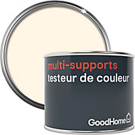 Testeur peinture de rénovation multi-supports GoodHome blanc Juneau satin 70ml