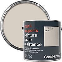 Peinture haute résistance multi-supports GoodHome beige Buenos Aires satin 2L