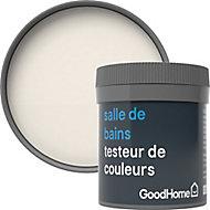 Testeur peinture salle de bains GoodHome blanc Ottawa satin 50ml